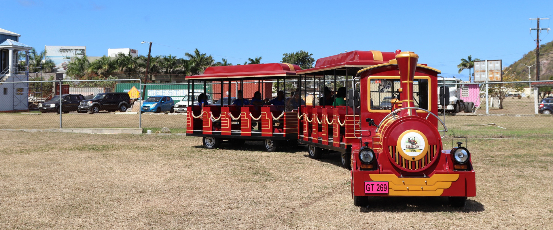 Electric Train Tour in St. Kitts