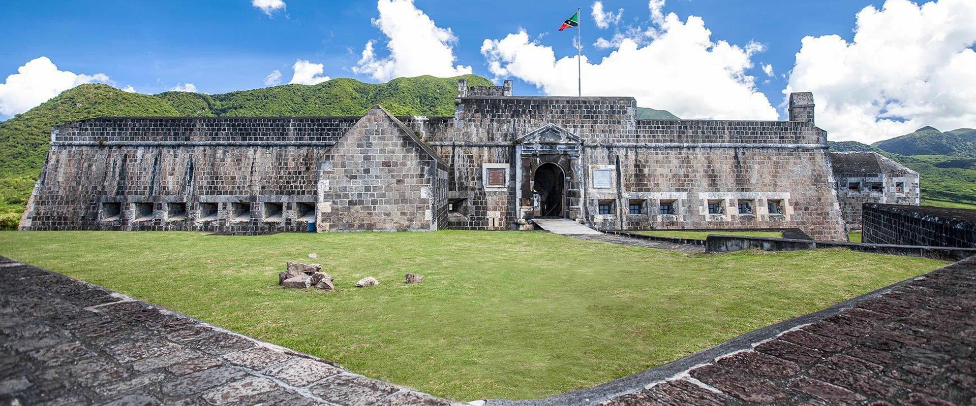 Brimstone Hill UNESCO World Heritage Site in St. Kitts
