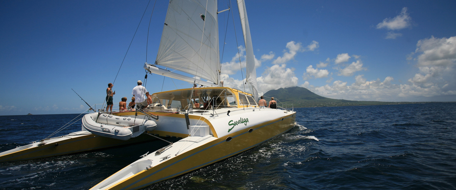 Catamaran Cruise in St. Kitts and Nevis