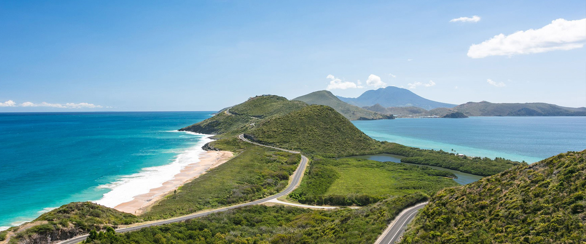 View of Timothy Hill St. Kitts
