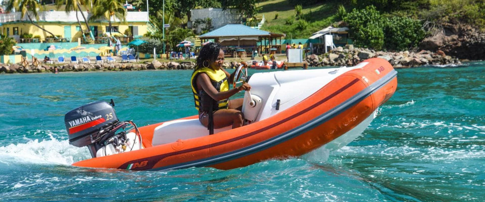 Mini Speed Boat Water Tour in St. Kitts